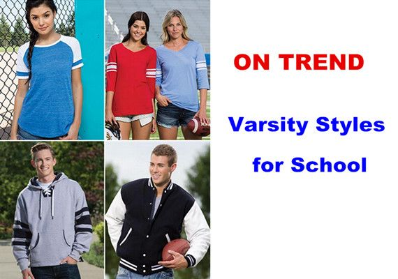 Varsity Styles for School from NYFifth