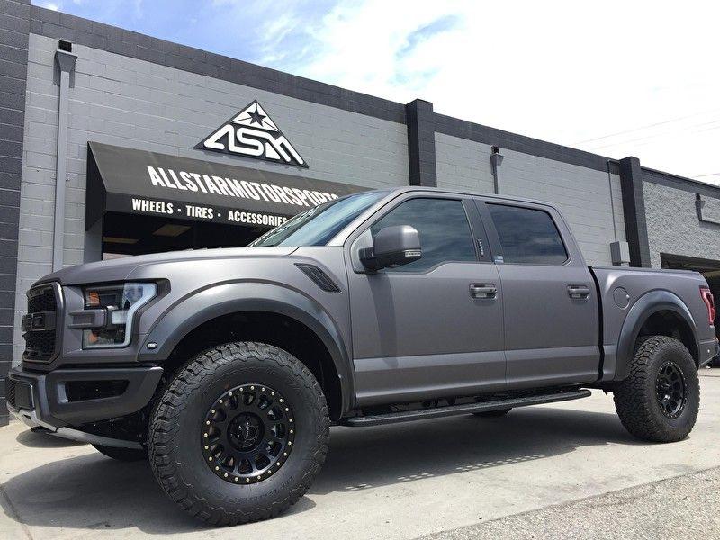 2017 Ford Raptor Custom Wrap And 17x8 5 Inch Method Nv 305 Matte