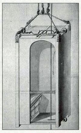 Louis Xv S Flying Chair Or Lift Was Made For His Mistress Madame De Chateauroux And Later Used By Mme De Pompadour T Technische Zeichnung Erfindungen Zeichnung