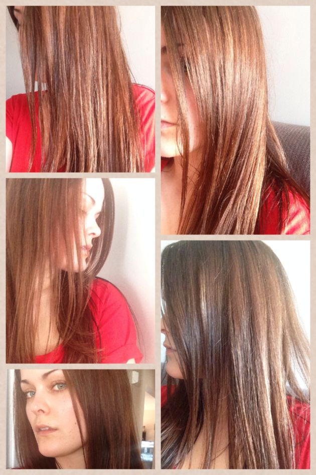 1 Week After Using Lush S Henna Hair Dye See My Results And Review