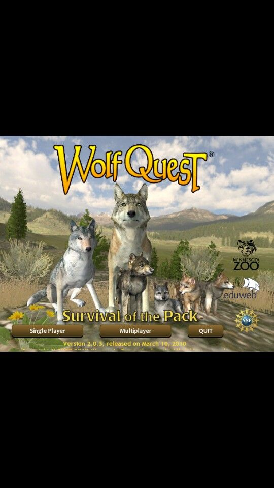 Games Where You Can Be A Wolf