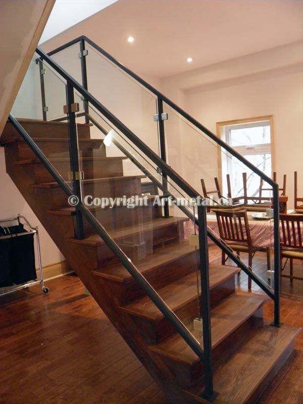 Best Glass Railing Systems Toronto Stair Balcony Deck 400 x 300