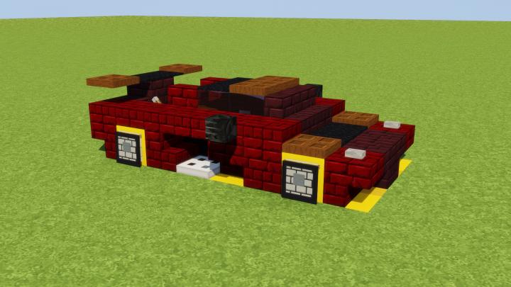 Koenigsegg Agera RS Minecraft Map