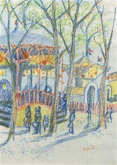 The fun-fair By Johan Dijkstra