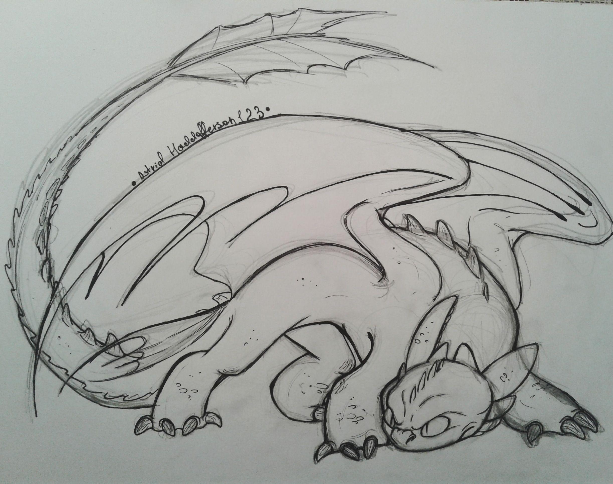 Картинки как приручить дракона рисунки