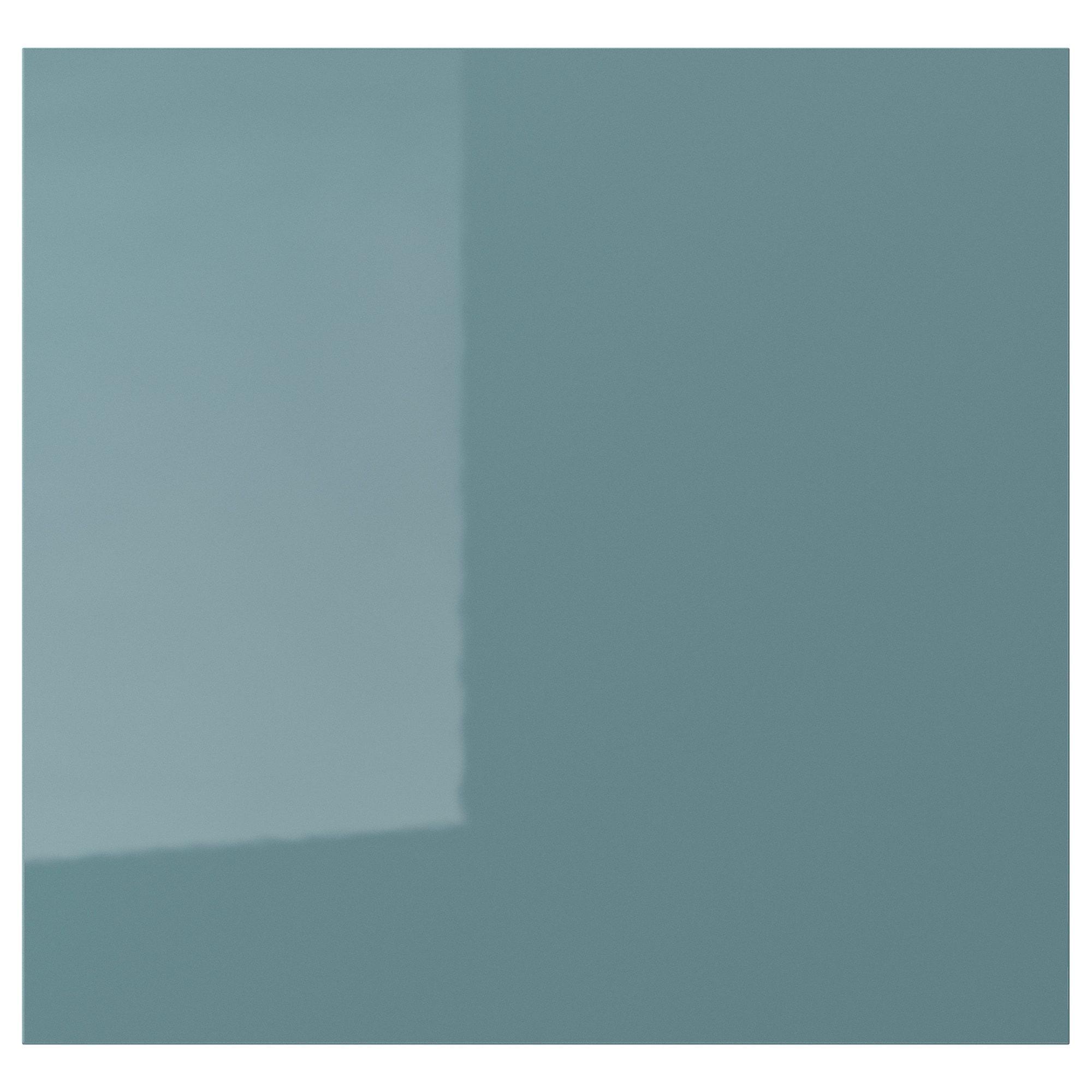 Best Ikea Kallarp Door High Gloss Gray Turquoise Products 400 x 300
