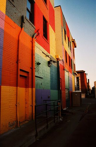 #ridecolorfully thru...Uptown, Minneapolis, Minnesota--by Seven Seconds Before Sunrise, via Flickr