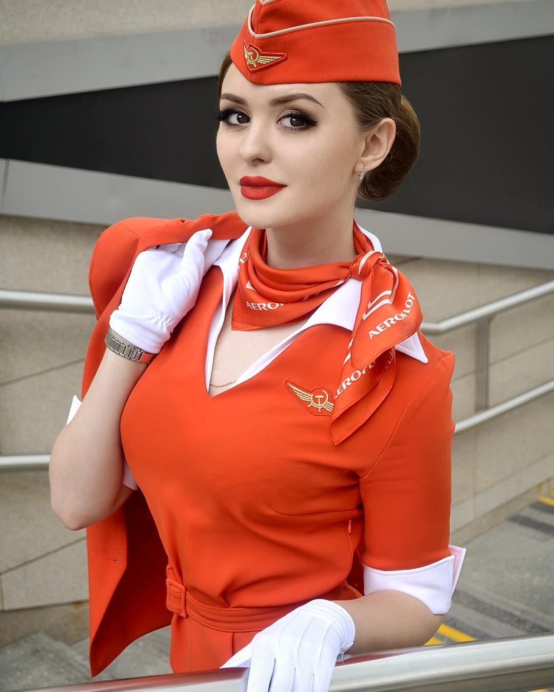 Фото кати стюардессы
