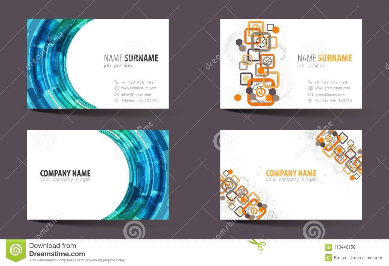 The Excellent 008 Template Ideas Creative Double Sided Business Card With Double Business Card Template Word Double Sided Business Cards Business Card Template