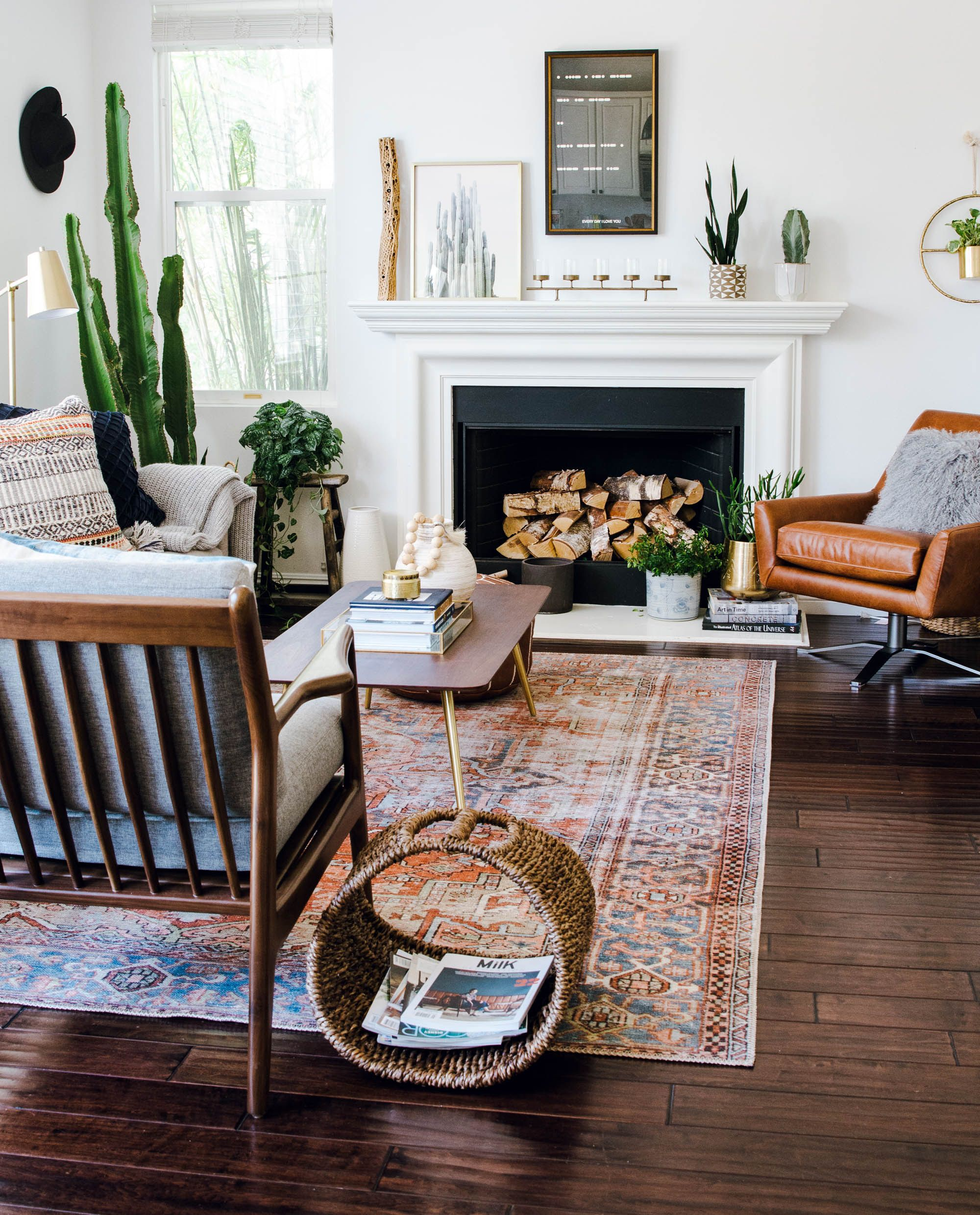 Anita Yokota Interior Designer Licensed Therapist Eclectic Living Room Living Room Scandinavian Home Decor Inspiration