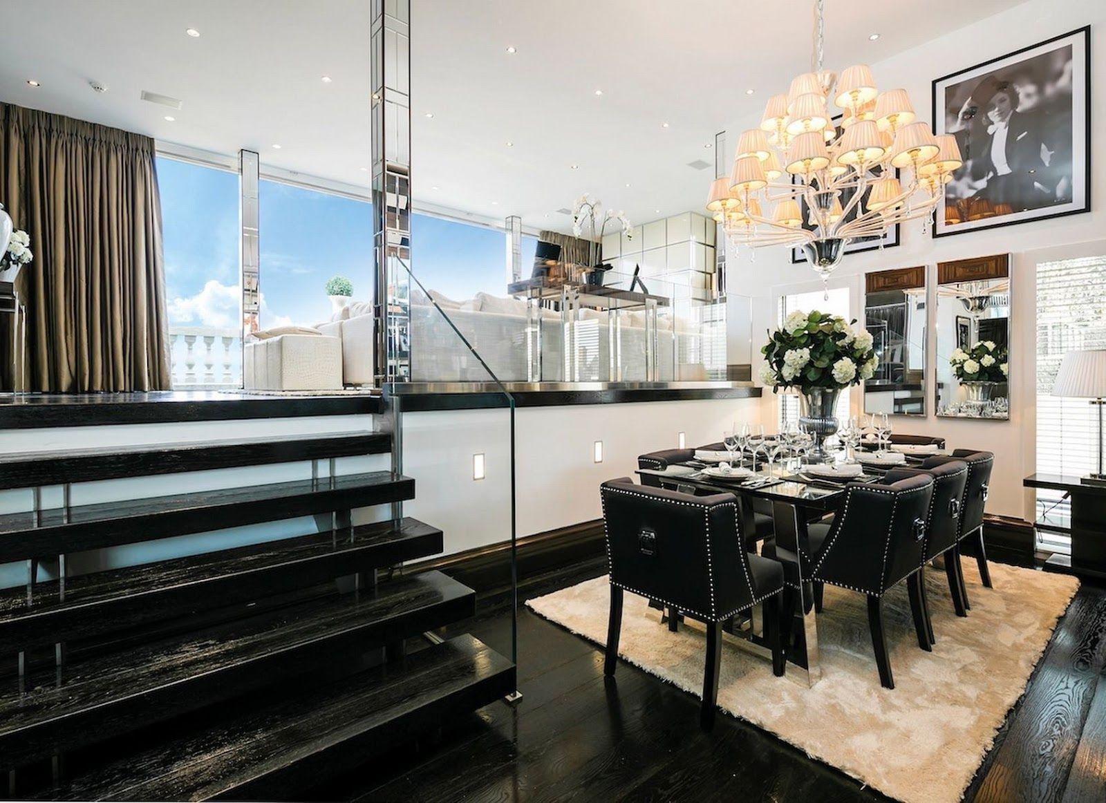 Celebrity Homes: Rihanna, Tom Cruise a iní... /Penthouse in London/
