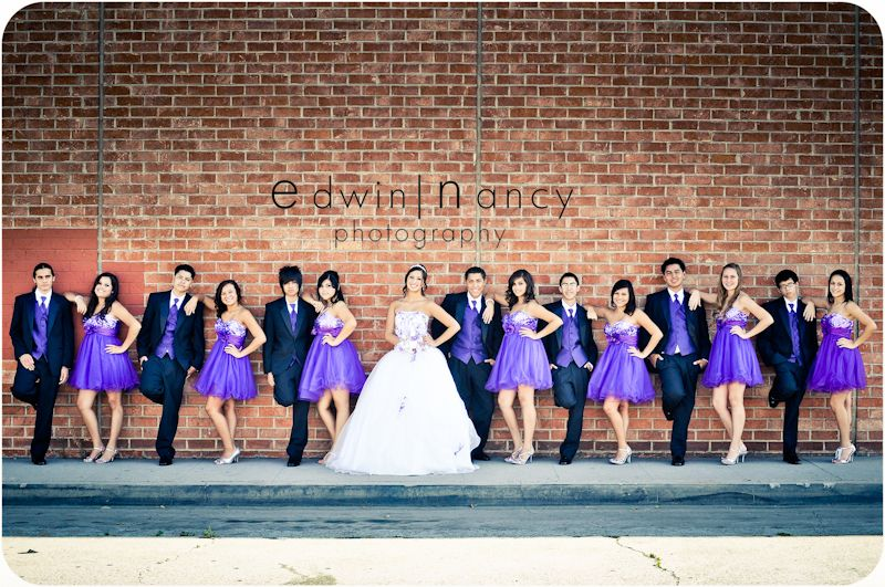 I love the colors! Definitely would do for a wedding! This