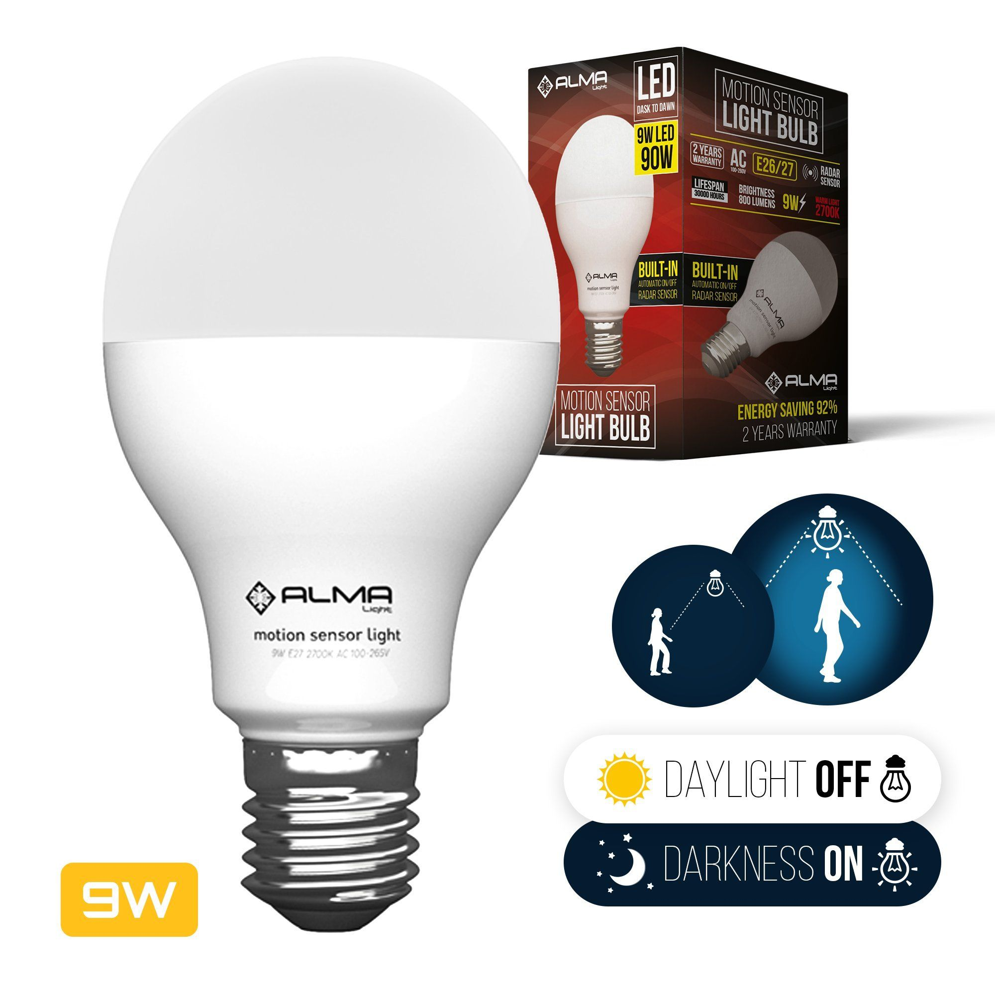 Motion sensor light bulb motion activated light bulb led dusk to motion sensor light bulb motion activated light bulb led dusk to dawn light bulb workwithnaturefo