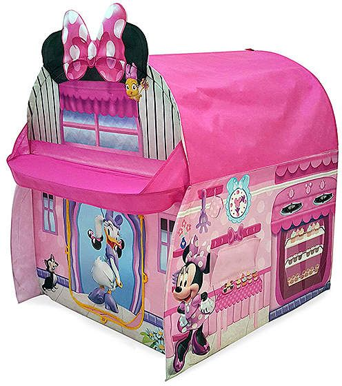 Minnie Kitchen Play Tent | Beautiful play tent for kids featuring ...