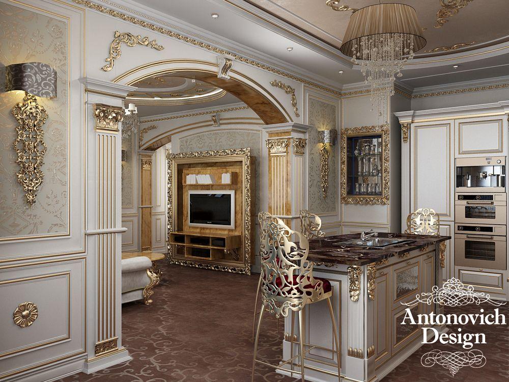 Http antonovich the interior of a soft - Luxury kitchen designs photo gallery ...