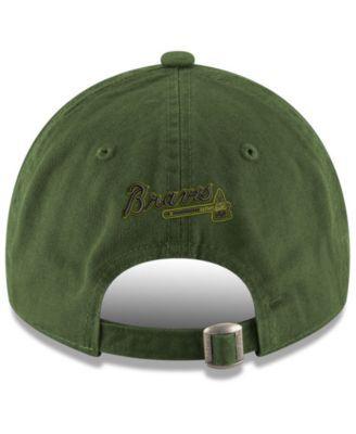 007bcb0e68256 New Era Atlanta Braves Memorial Day 9TWENTY Cap - Green Adjustable ...