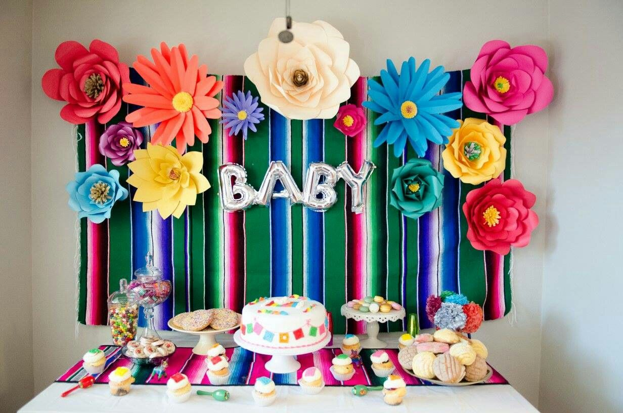 Mexican Baby Shower Theme Decor Mexican Baby Shower In 2019
