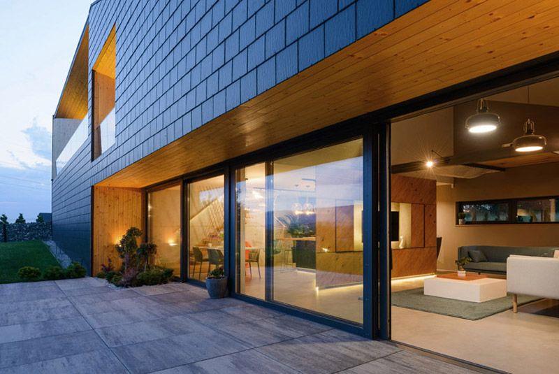 Modern singlefamily house. Architects MUS Architecture
