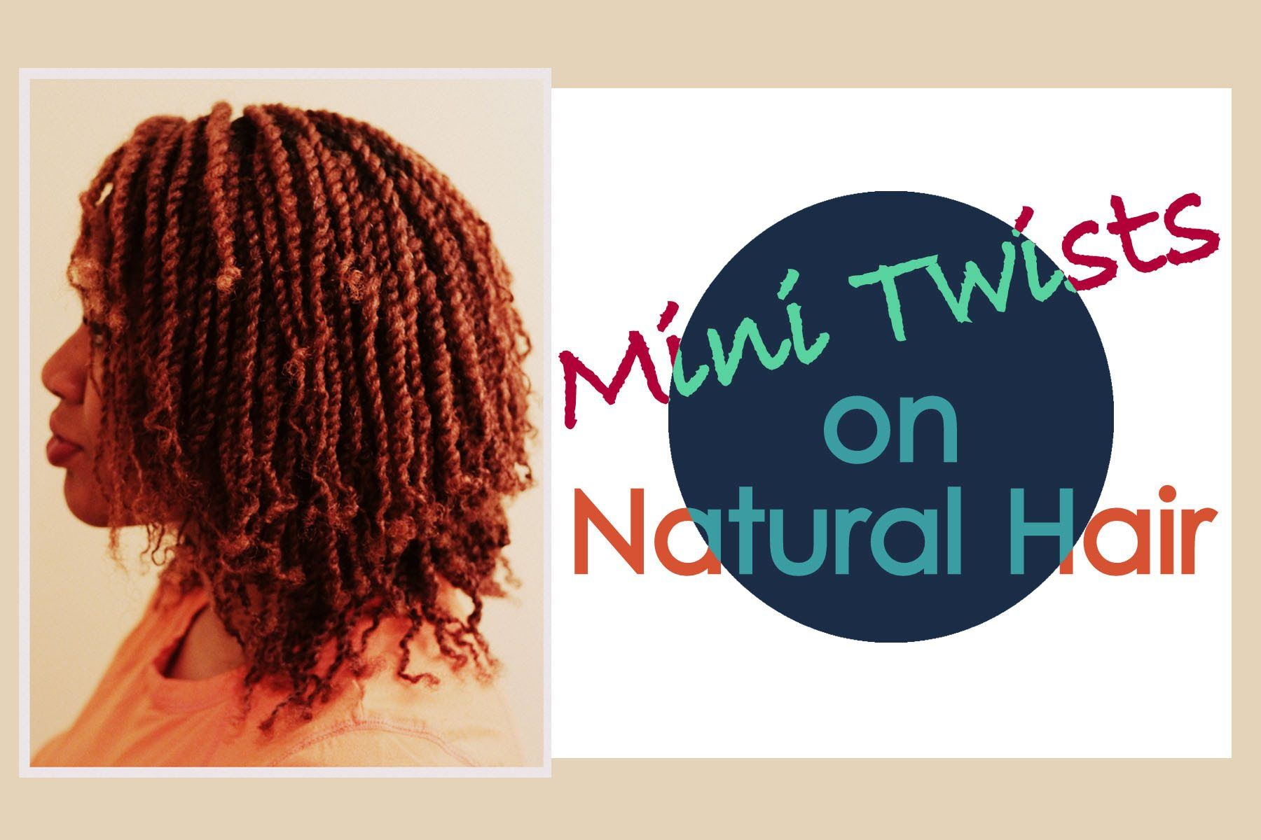 Naturally Michy | Mini Twists Tutorial on Natural Hair