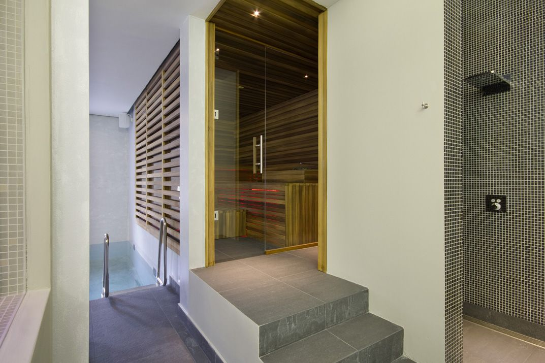 Sauna for Agua City Spa in Eindhoven. Design & Realization: 4SeasonsSpa. (www.4seasonsspa-pro.com)
