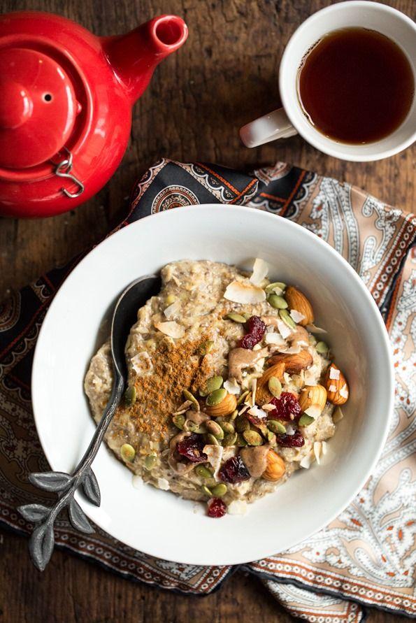 5 Minute Oatmeal Power Bowl Recipe Breakfast Bowls Eggless Breakfast Food