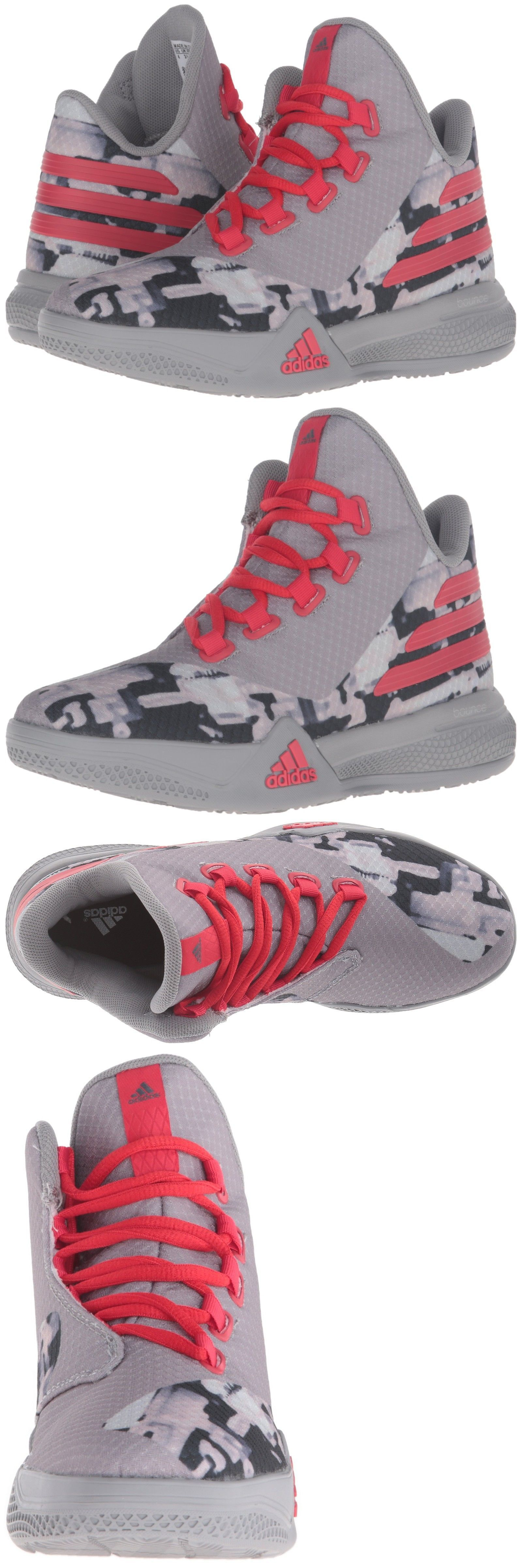 timeless design 071ea 398ea Adidas Light Em Up 2 J Basketball Shoe Sz 5Y B42912 Gray Red Blk - BUY IT  NOW ONLY 44.16 on eBay!