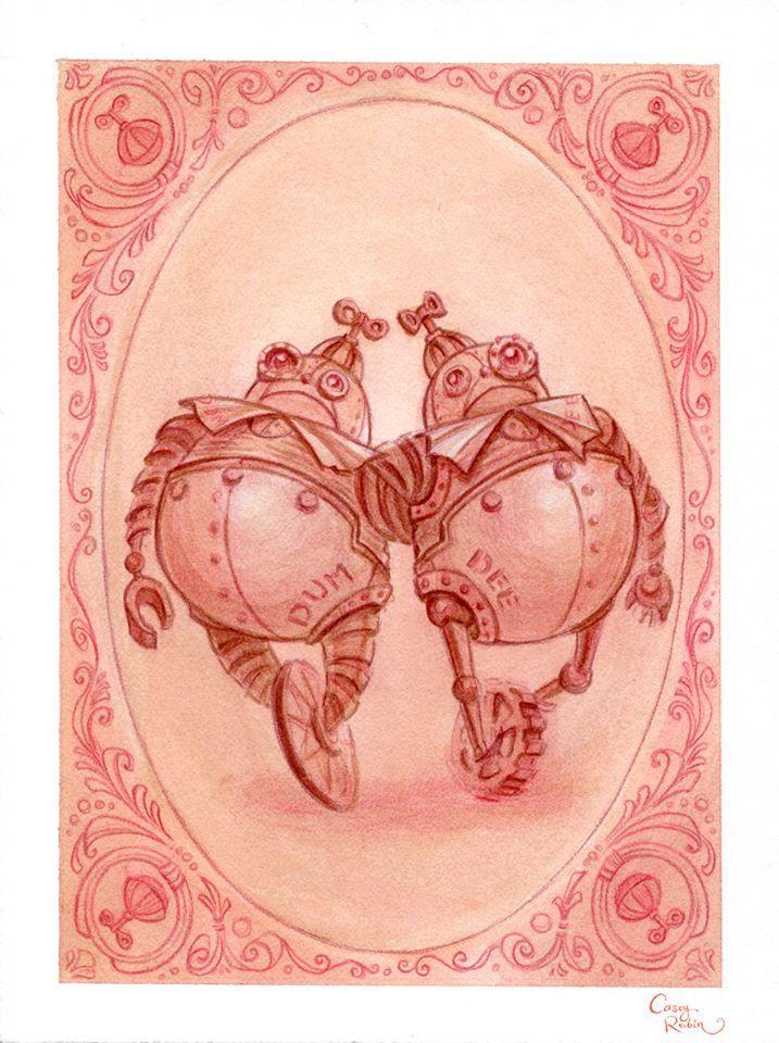 Alice in Wonderland by Casey Robin (part I) website l shop