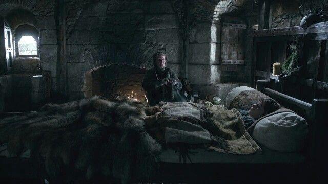 O futuro de Bran Stark se entrelaça com os Antigos Heróis  Algo que me chamou atenção foi ver que o dom de Bran Stark está em seu sangue, em sua descendência.  Jojen citou os antigos videntes verdes, e falou sobre videntes verdes extremamente poderosos capazes de controlar qualquer criatura que eu fiquei curioso.  Eram tambémwargs, assim como você, e os maiores de todos podiam usar a pele de qualquer animal que voasse, nadasse ou caminhasse, e eram também capazes de olhar através dos olhos…