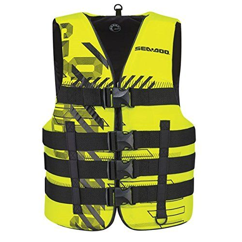 Sea Doo Navigator Pfd Life Jacket Hi Vis Yellow Largexl 2858487326 Details Can Be Found By Clicking On The Image It Is Ama Life Jacket Jackets Vest Jacket