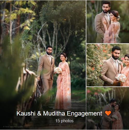 Kaushi Muditha Engagement Sltb Engagement Couple Dress Engagement Bride Engagement