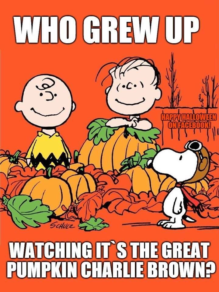 It's The Great Pumpkin Charlie Brown Quotes Every Halloween  Memory Lane  Pinterest  Childhood Nostalgia And .