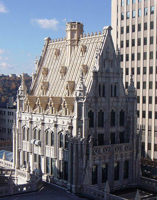 Pittsburgh Pa Union Trust Penthouse Pittsburgh City Visit Pittsburgh Pittsburgh Skyline