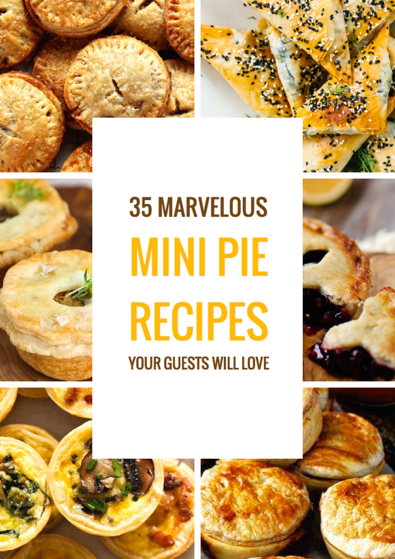 35 Insanely Cute (& Delish) Mini Pie Recipes Your Guests Will Love This Holiday Season