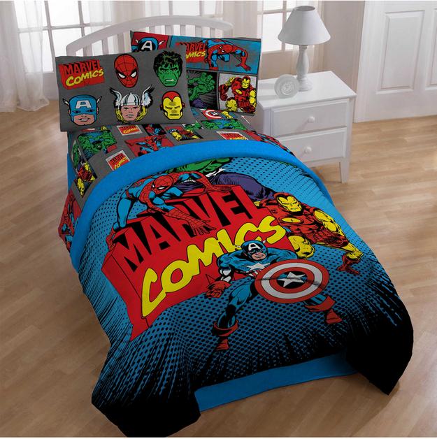 Good 23 Ideas Para Hacer La Habitación De Súper Héroe Definitiva. Boys Superhero  BedroomMarvel ...
