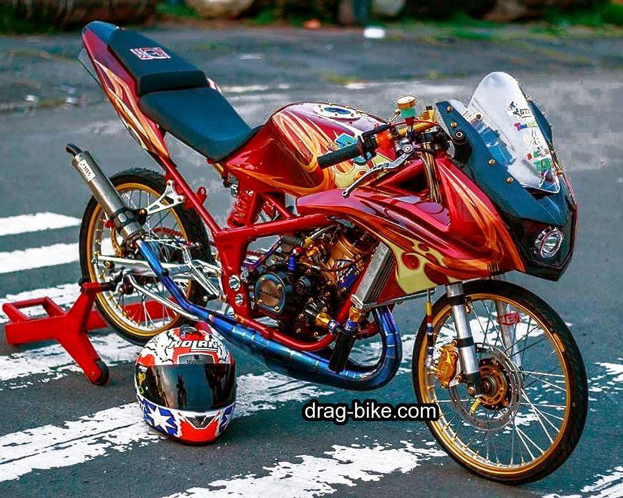 Foto Motor Drag Ninja Rr Thailook Style Kawasaki Ninja Ninja