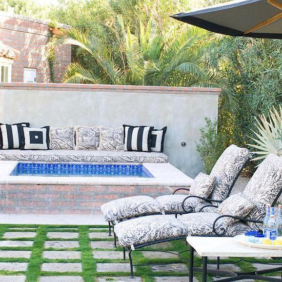 10 Ideen Garten Pool Gipsmauer