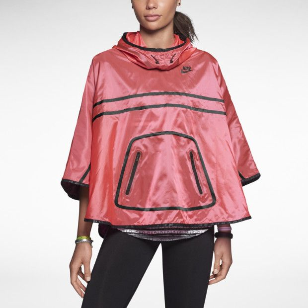 nike tech poncho impermeable mujer my style pinterest. Black Bedroom Furniture Sets. Home Design Ideas