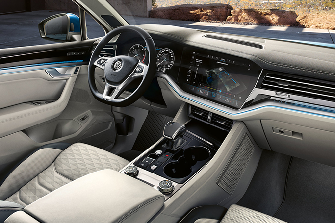 A Luxury Suv With Spacious And Elegant Interior The New Vw Touareg Image Source Www Vw Co Uk Volkswagen Touareg Volkswagen Luxury Suv