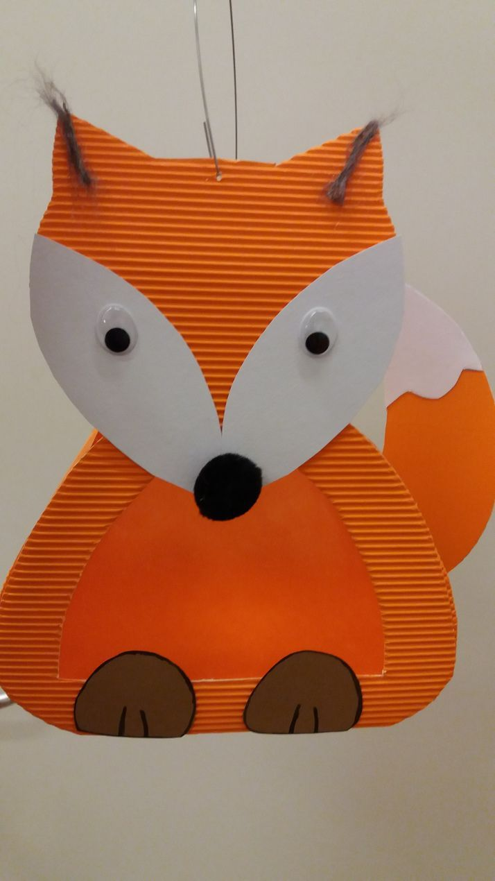 Fuchslaterne #laternebasteln Fuchslaterne