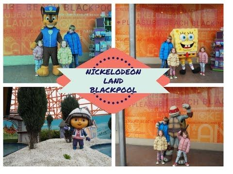Quatang Gallery- Nickelodeon Land At Blackpool Pleasure Beach Family Travel Days Out For Toddlers And Young Kid Days Out With Kids Blackpool Pleasure Beach Days Out In England