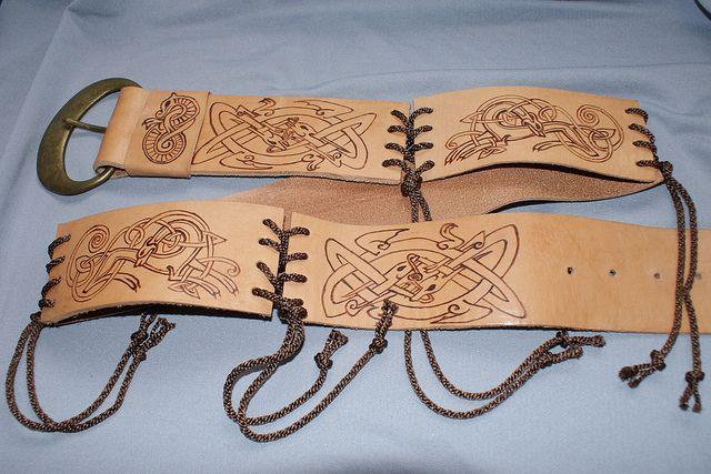 Celtic Belt Panels