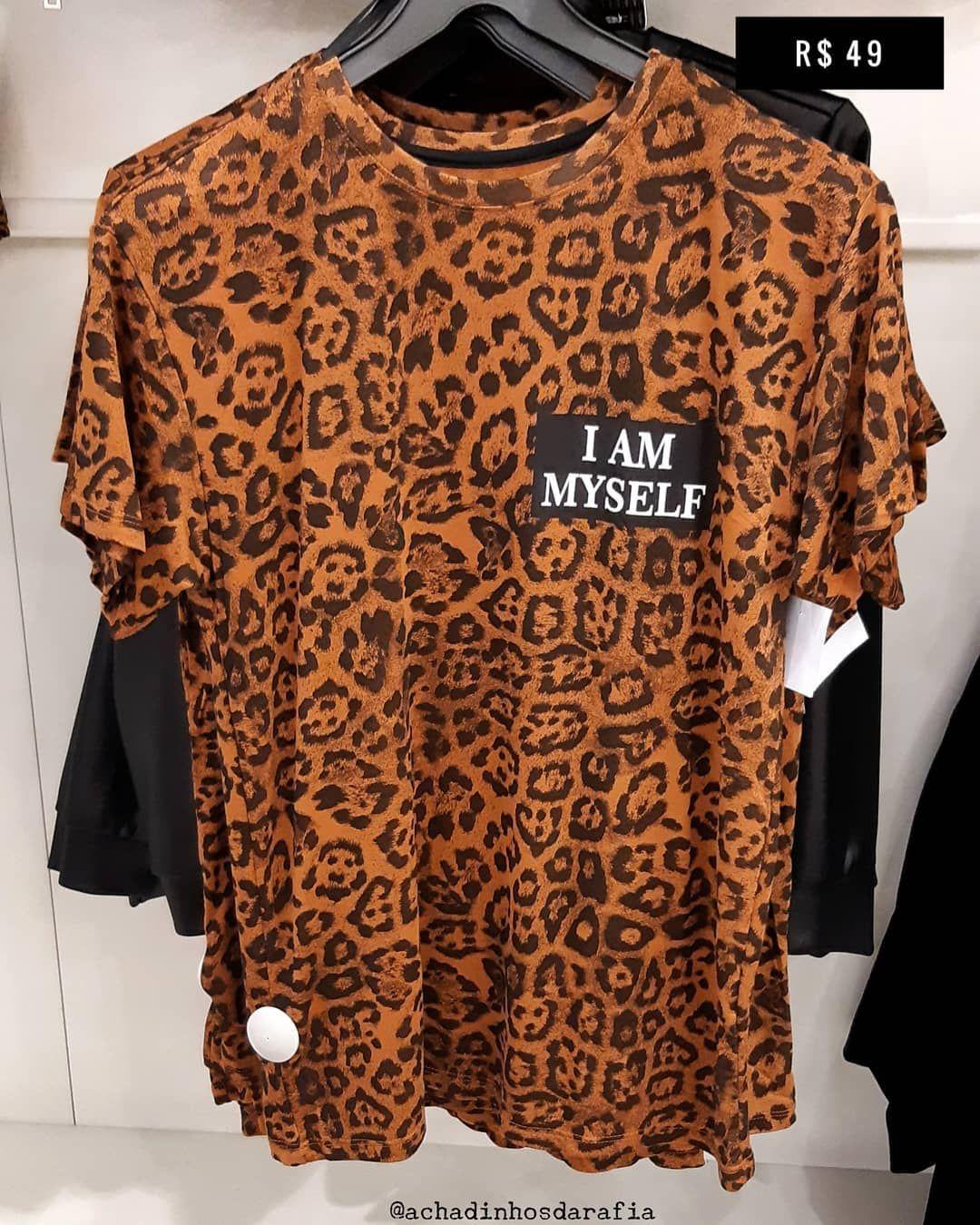 1d24e4069d T-shirt animal print  cea brasil . . . . .  tshirt  tshirts  moda ...
