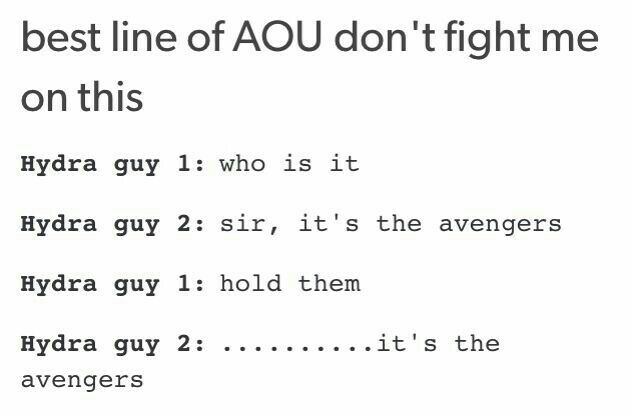 …........… it's the avengers