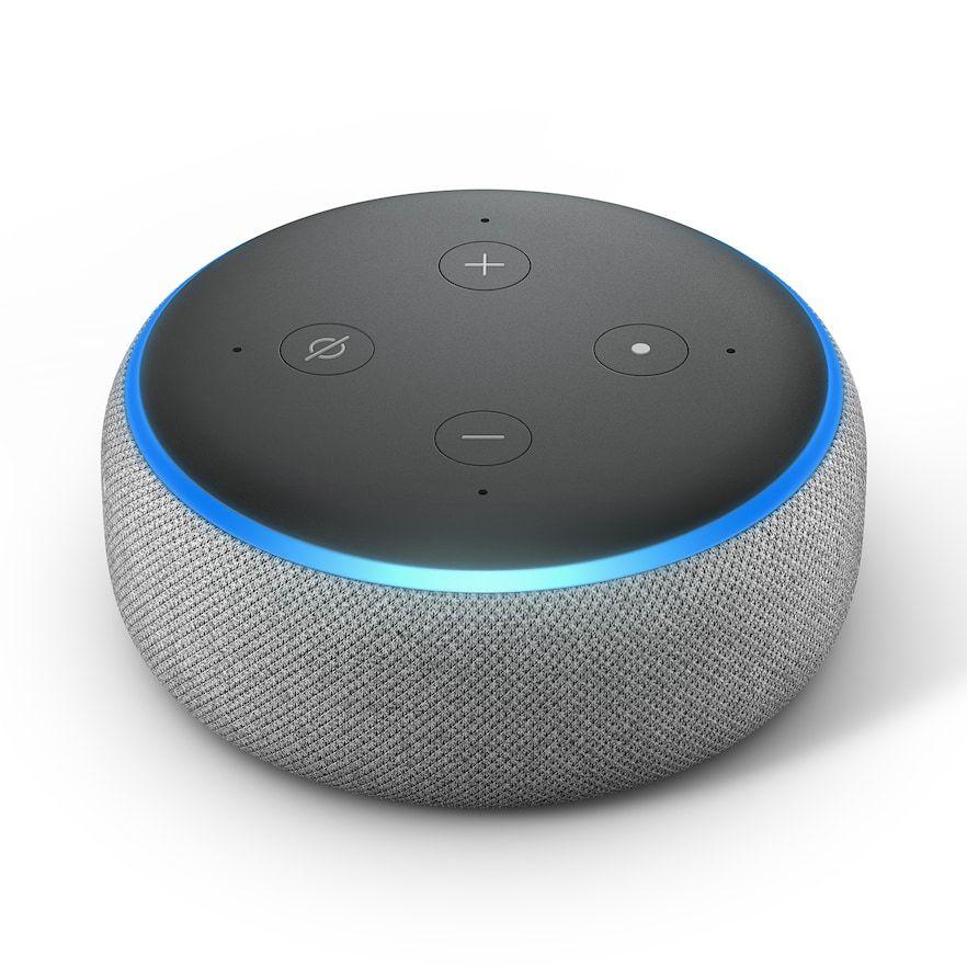 Amazon Echo Dot - 3rd Generation, Grey | Amazon echo, Echo dot ...