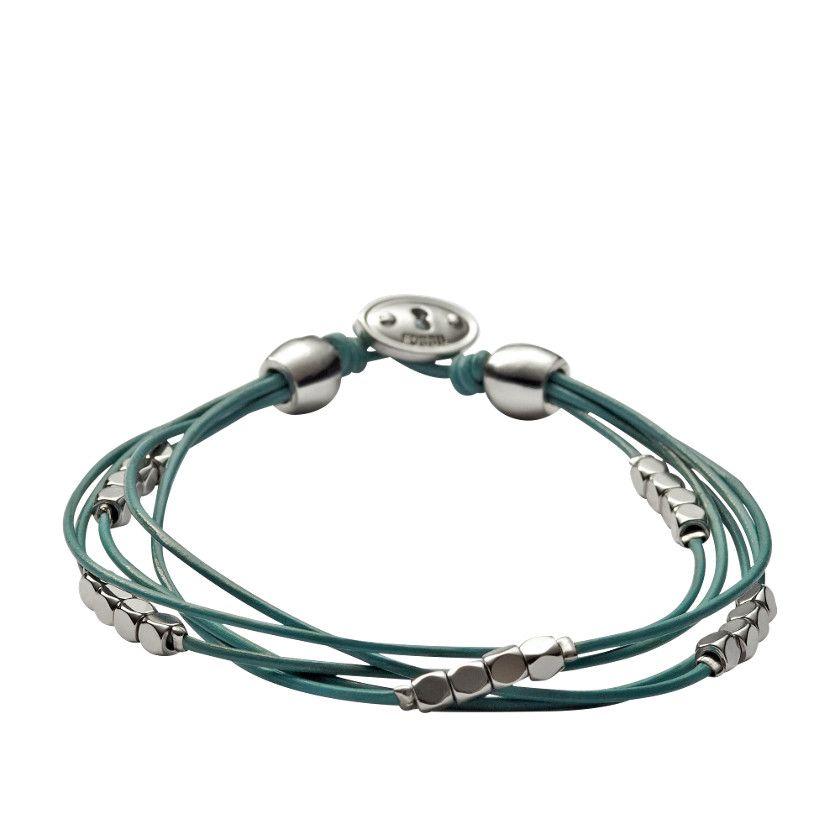 FOSSIL® Gioielli Bracciali:Donna Bracciale multifilo blu JA5846