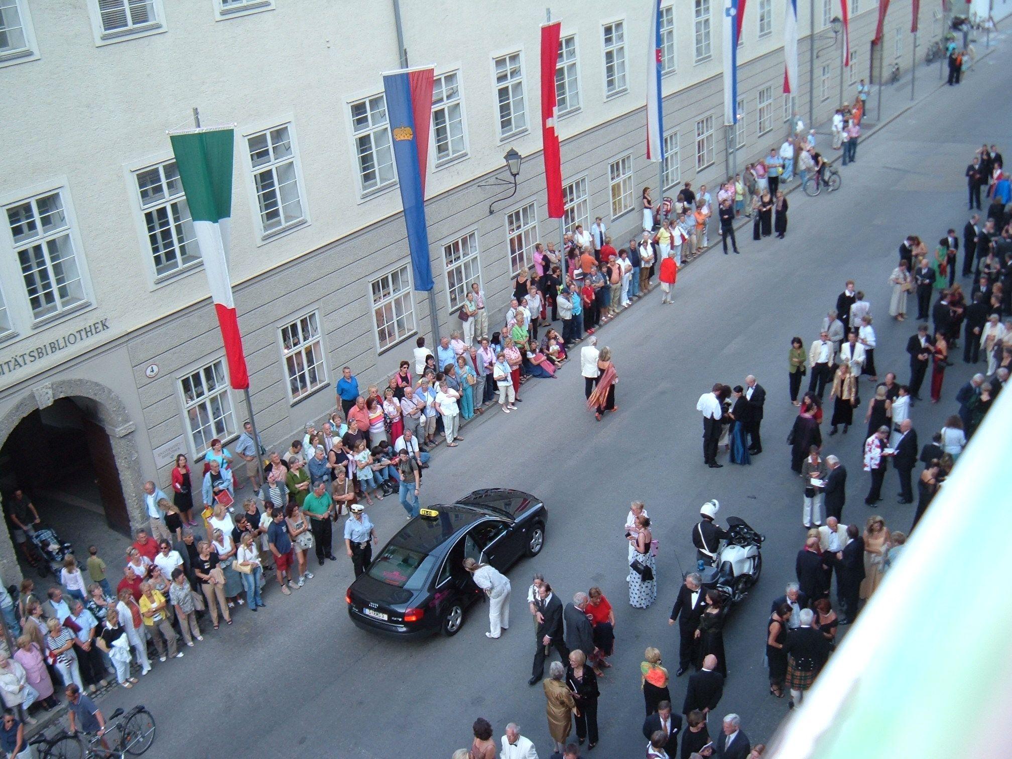 Salzburg Festival - Festival area