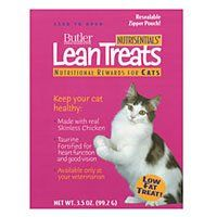 Butler NutriSentials Lean Treats for Cats 35 oz Resealable Pouch 10 Pack *** You can get more details by clicking on the image.