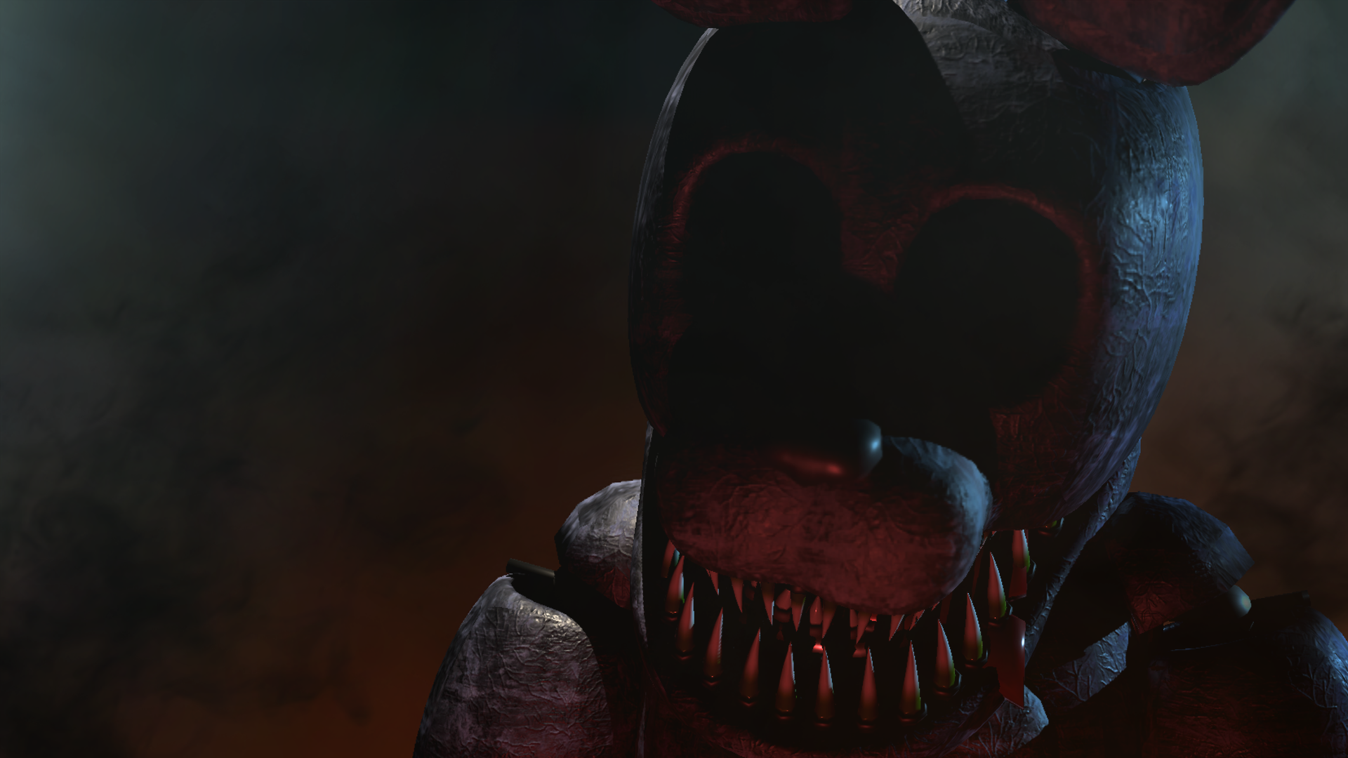 Sinister Bonnie Is One Of The Main Antagonists In Sinister Turmoil Sinister Bonnie Is A Large Bipedal Animatronic Rabbi Fnaf Five Nights At Freddy S Sinister
