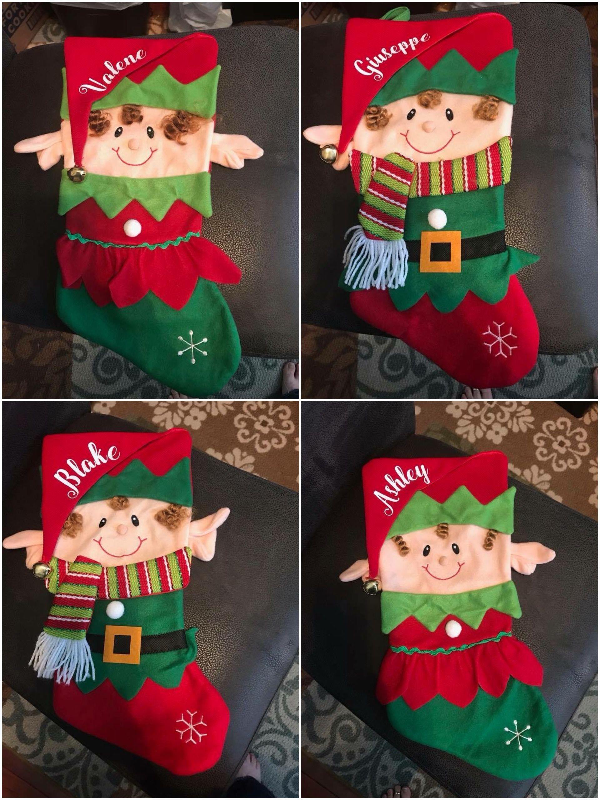 christmas stocking from hobby lobby personalized for family - Hobby Lobby Christmas Stockings