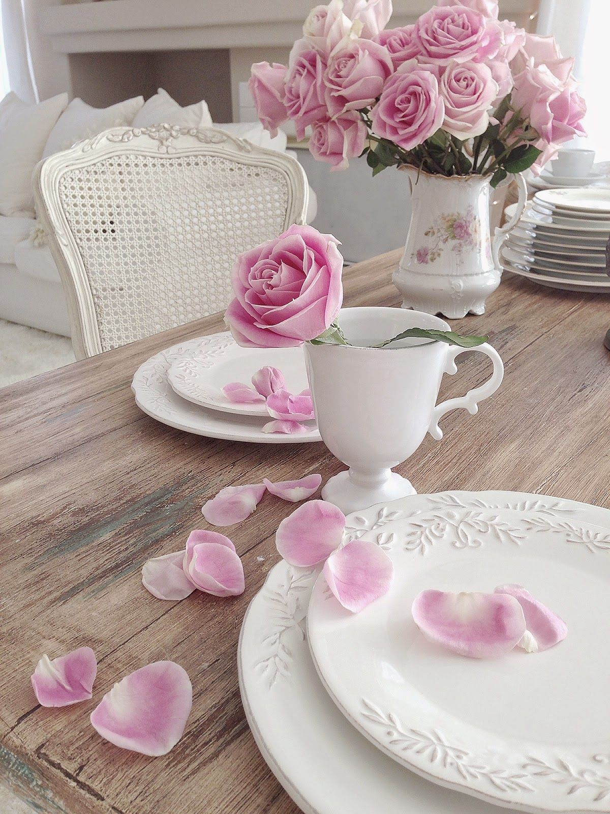 Romantic shabby chic home romantic shabby chic blog - My Shabby Chic Home Romantik Evim Romantik Ev Romantic Shabby Chic Romantic
